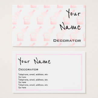 """Echoes"" Decorator Business Cards"
