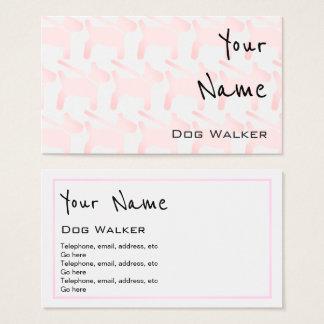 """Echoes"" Dog Walker Business Cards"