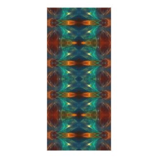 Echoes From the Depths.Abstract Digital Art Design Customized Rack Card