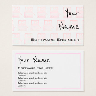 """""""Echoes"""" Software Engineer Business Cards"""