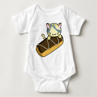 Eclair Kitty Baby Bodysuit