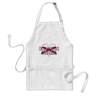 Eclectic, Alabama Adult Apron