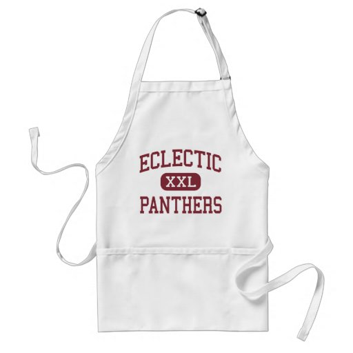 Eclectic - Panthers - Middle - Eclectic Alabama Aprons