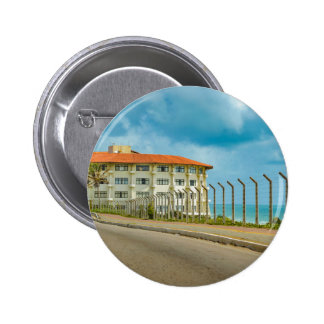 Eclectic Style Building Natal Brazil 6 Cm Round Badge