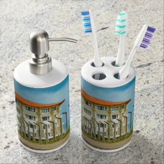 Eclectic Style Building Natal Brazil Bathroom Set
