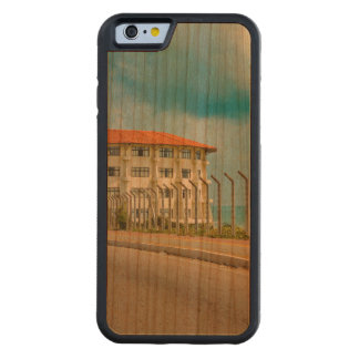 Eclectic Style Building Natal Brazil Carved Cherry iPhone 6 Bumper Case
