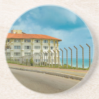 Eclectic Style Building Natal Brazil Coaster