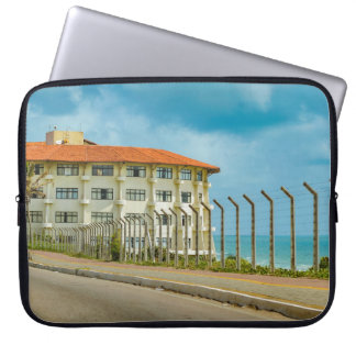 Eclectic Style Building Natal Brazil Laptop Sleeve