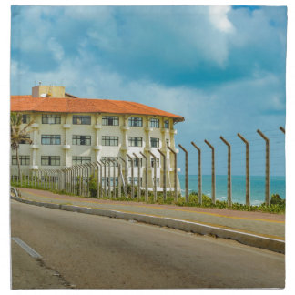 Eclectic Style Building Natal Brazil Napkin