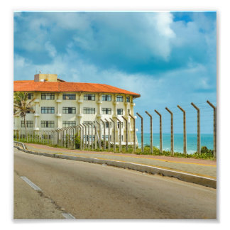 Eclectic Style Building Natal Brazil Photograph