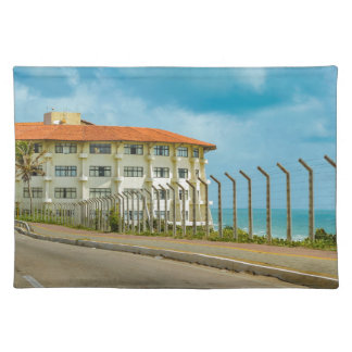 Eclectic Style Building Natal Brazil Placemat