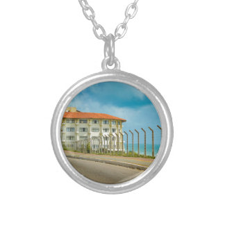 Eclectic Style Building Natal Brazil Silver Plated Necklace