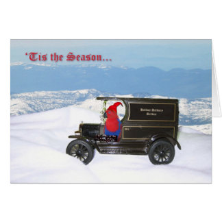 Eclectus Holiday Delivery Card
