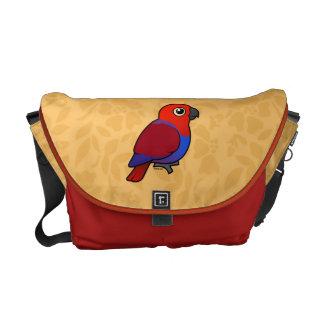 Eclectus Parrot female Courier Bag
