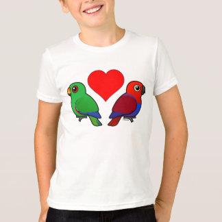 Eclectus Parrot Love T-Shirt