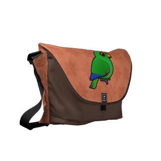 Eclectus Parrot male Courier Bag