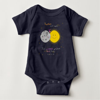 Eclipse 2017 baby bodysuit