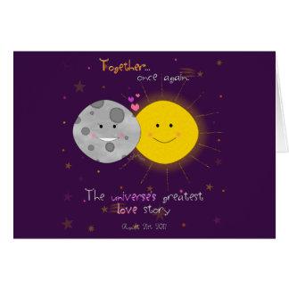 Eclipse 2017 card