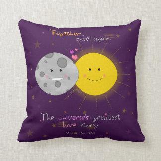 Eclipse 2017 cushion