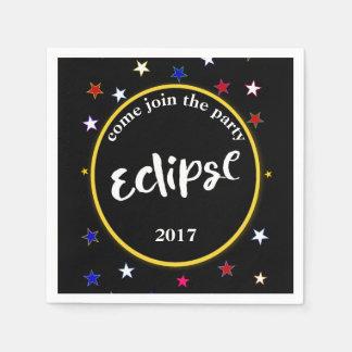 Eclipse And Stars Party Napkins Disposable Serviette