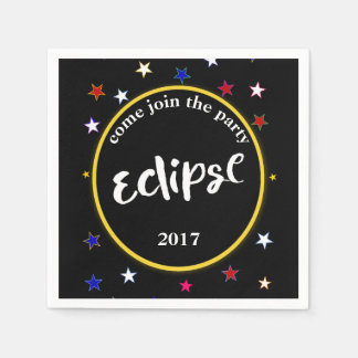 Eclipse And Stars Party Napkins Paper Napkin