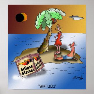 Eclipse Cartoon 9523 Poster