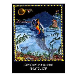 Eclipse Cartoon 9524 Postcard