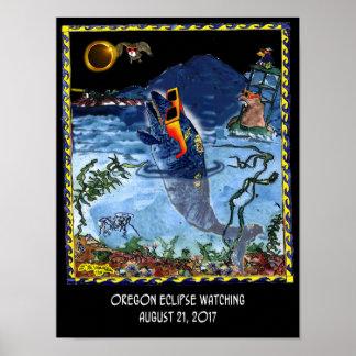 Eclipse Cartoon 9524 Poster