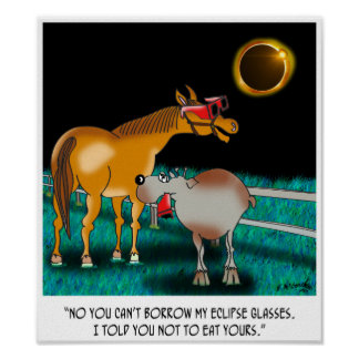 Eclipse Cartoon 9525 Poster