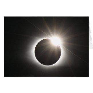 Eclipse - Diamond Ring - Greeting Card