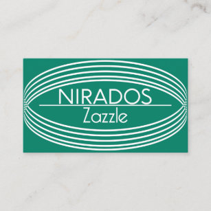 Emerald green business cards zazzle au eclipse emerald green business card reheart Gallery