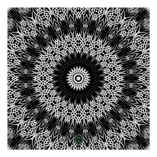 Eclipse Mandala 2 Poster