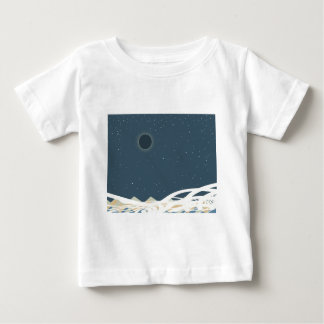 """Eclipse of Sun Art with """"Snakes"""" Baby T-Shirt"""