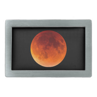 Eclipse of the Blood Moon Belt Buckle