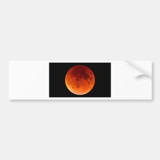 Eclipse of the Blood Moon Bumper Sticker
