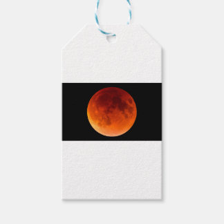 Eclipse of the Blood Moon Gift Tags