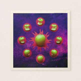 Eclipse Of The Green Star Disposable Napkin