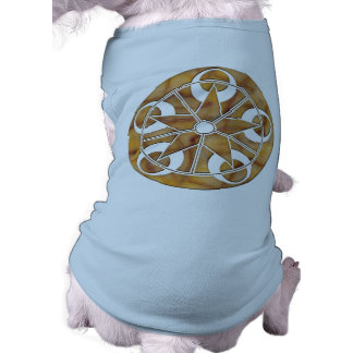 Eclipse Stone Crop Circle Pet T Shirt