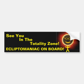 Ecliptomaniac Bumper Sticker