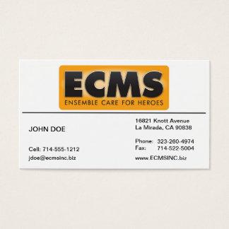 ECMS Business Card Lined