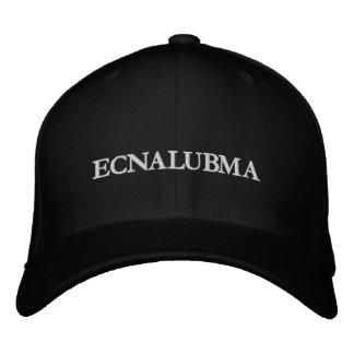 ECNALUBMA EMBROIDERED HAT