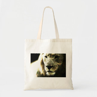 Eco bag lion CCO with art