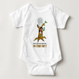 Eco Betty' Efficiency Tree Baby Bodysuit
