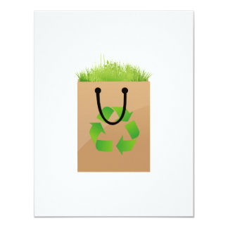 eco brown shopping bag grass recycle.png personalized invitation