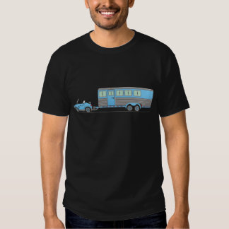 Eco Car Horse Trailer T-Shirt