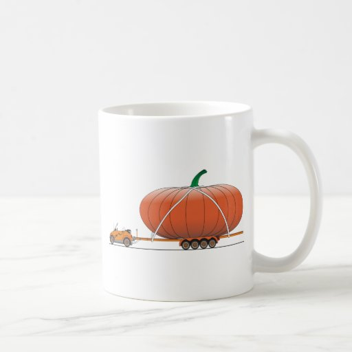 Eco Car Pumpkin Coffee Mug