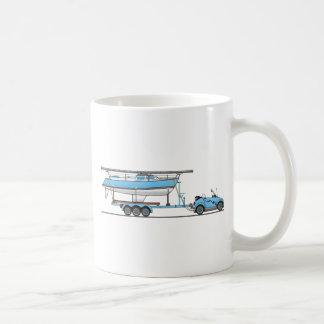 Eco Car Sail Boat Coffee Mug