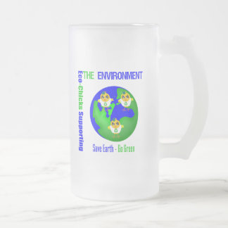 Eco-Chicks Supporting The Environment Mugs