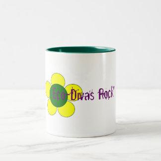 Eco-Divas Rock! Mug
