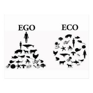 eco ego postcard